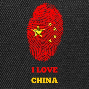 I LOVE CHINA FINGERABDRUCK T-SHIRT - Snapback Cap