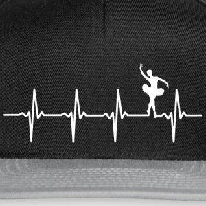Your heart beats for ballet? - Snapback Cap