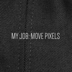 MY JOB: MOVE PIXELS - Snapback Cap