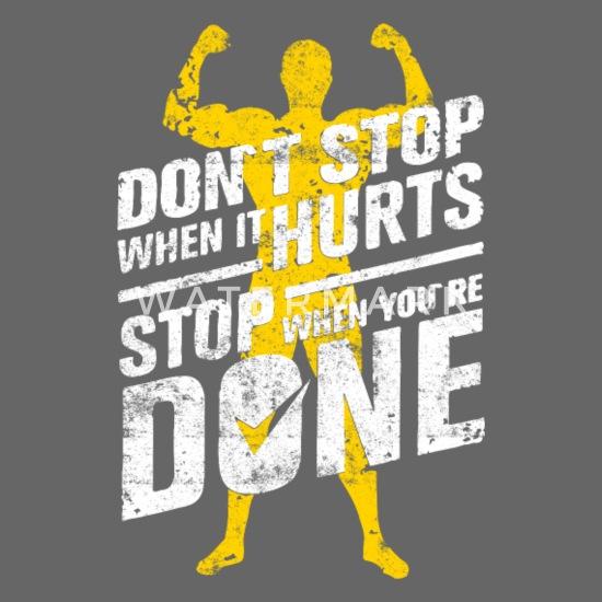 Fitness Workout Motivation Gym Spruch Snapback Cap Spreadshirt