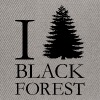 I LOVE BLACK FOREST - Snapback Cap