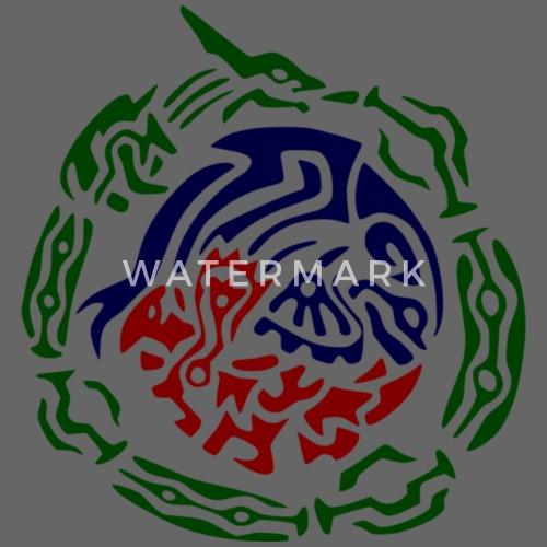 9e814f863c1 Rayquaza kyogre Groudon Stammes - Snapback Cap. Vorne. Design