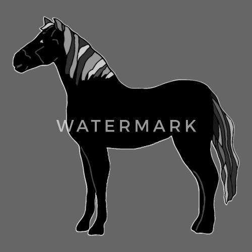 caballo - Gorra snapback. delante. Diseño 746792e15f5