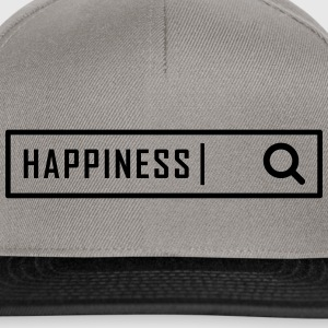Search happiness - Snapback Cap