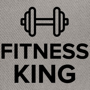 fitness king - Snapback Cap