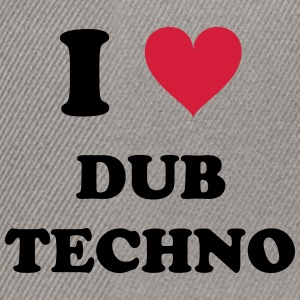 I LOVE TECHNO DUB - Snapback-caps