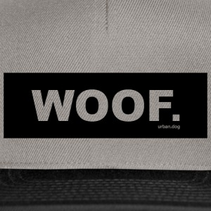 WOOF urban.dog Black - Snapback Cap