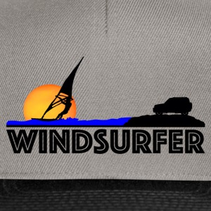 Windsurfer at Sunset - Snapback Cap