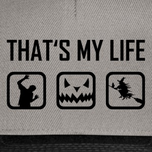 This is my life - Halloween Horror Zombies Witch - Snapback Cap