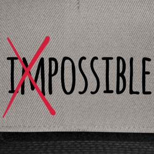 Impossible Possible 2c - Snapback Cap