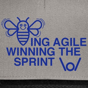 BEING AGILE WINNING THE SPRINT - Snapback Cap