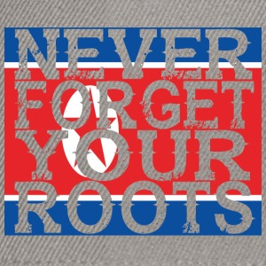 never forget roots home North Korea - Snapback Cap