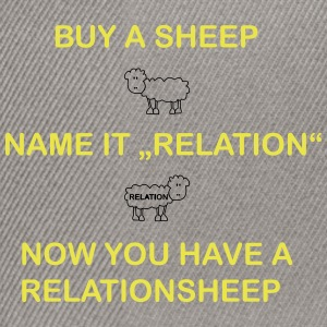 relation Sheep - Casquette snapback