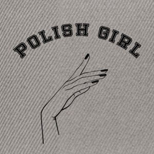 Polish girl - Snapback Cap
