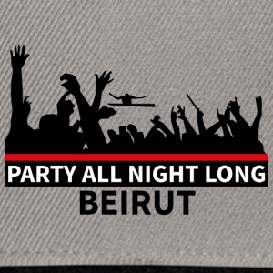 Party All Night Long Beirut - Snapback Cap
