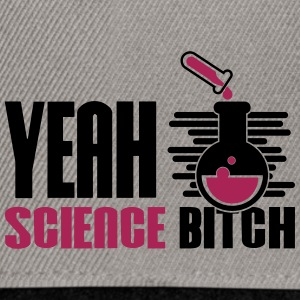 Ja Bitch Science Chemistry - Snapback cap