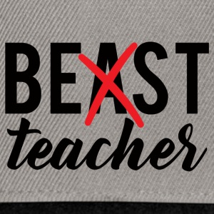Teacher / School: Best Teacher - Snapback Cap
