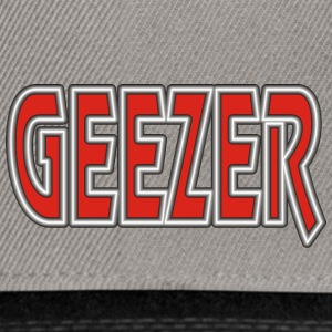 Retired GEEZER - Snapback Cap