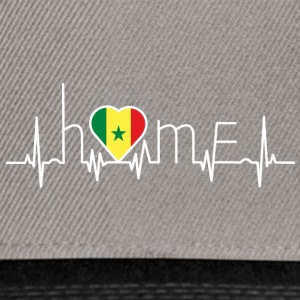 i love home homeland Senegal - Snapback Cap