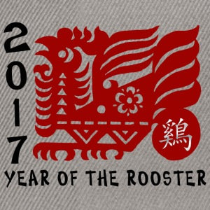 2017 Year of The Rooster Papercut - Snapback-caps