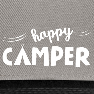 happy Camper - Snapback-caps