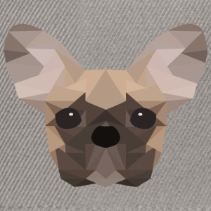 French Bulldog Low Poly - Snapback Cap
