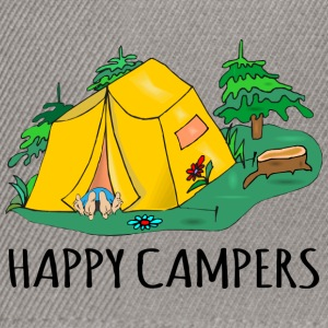 Camping Happy Campers - Snapback-caps