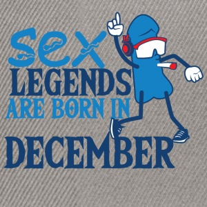 Geboren december penis Sex Legends - Snapback cap