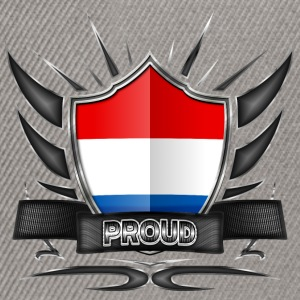 Netherlands flag crest Proud 012 - Snapback-caps