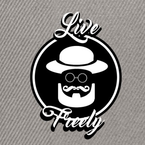 live freely - Casquette snapback