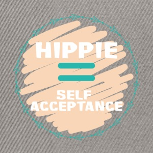 Hippie / Hippies: Hippie = Self Acceptance - Snapback Cap
