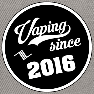 Vaping since 2016 - Snapback Cap