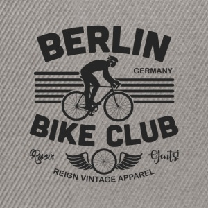 BERLIN BIKE - Snapback Cap