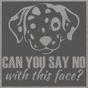 Hund / Dalmatiner: Can You Say No With This Face? - Snapback Cap