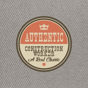 AUTHENTIC CONTSRUCTION WORKER - CONSTRUCTION WORKER - Snapback Cap