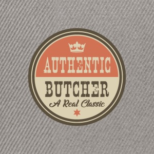 AUTHENTIC BUTCHER - FLEISCHER - Snapback Cap