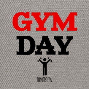 Gym Day Tomorrow - Snapback Cap