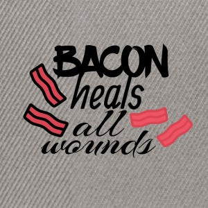 Bacon heals everything - Snapback Cap