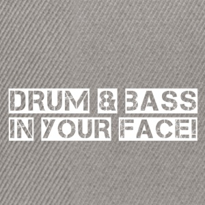 DRUM N BASS - Snapback Cap