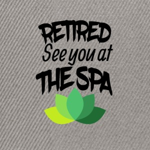Retired See you at the SPA - Snapback Cap
