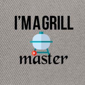 The grill master - Snapback Cap