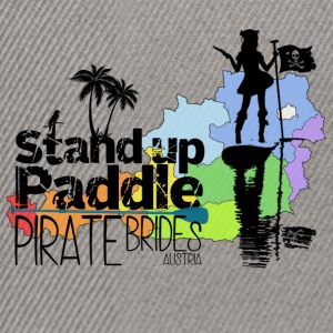 Stand up Paddle Pirate Brides svart - Snapback-caps