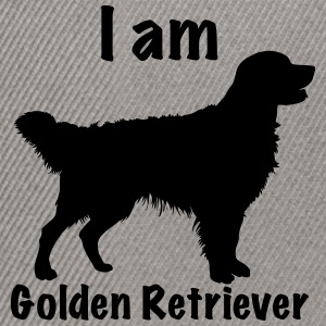 I am Golden Retriever - Snapbackkeps