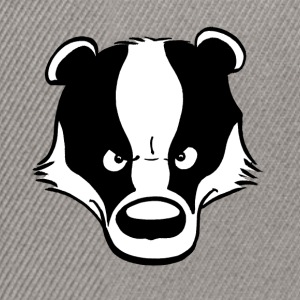 Angry Badger - Snapback-caps