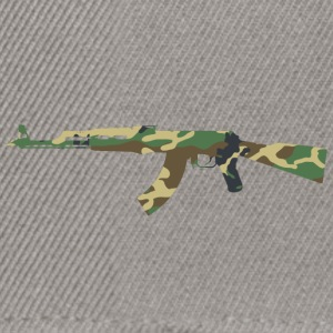 AK47 Camouflage - Snapback-caps