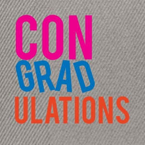 High School / Graduation: Congratulations - Snapback Cap