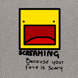 Screaming face - Casquette snapback