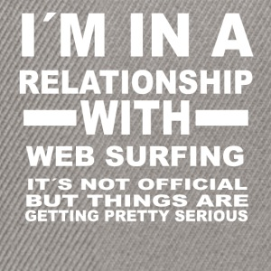 Relationship with WEB SURFING - Snapback Cap