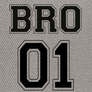 BRO 01 - Black Edition - Snapbackkeps