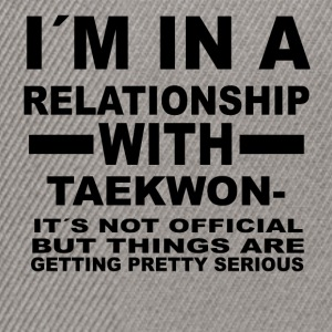 relationship with TAEKWONDO - Snapback Cap